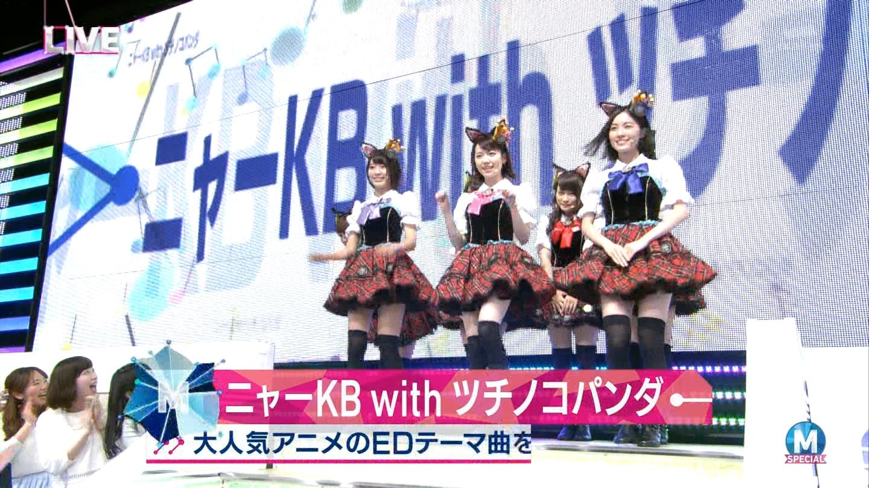 宮脇咲良 Mステ ミュージックステーション ニャーKB 20150403 (2)