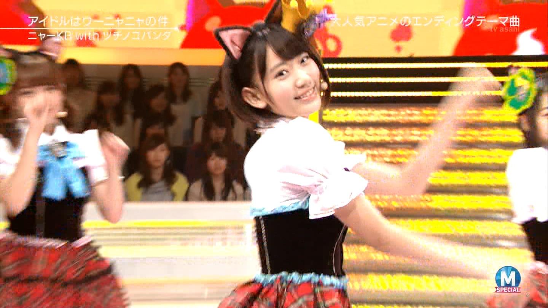 宮脇咲良 Mステ ミュージックステーション ニャーKB 20150403 (28)