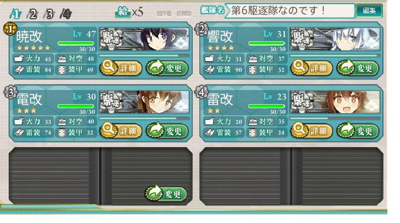 第六駆逐隊なのです! 艦これ暁、響、電、雷 (1)