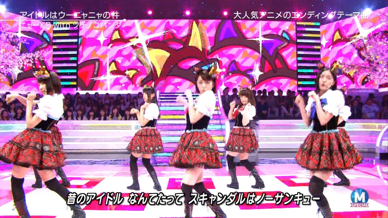 宮脇咲良 Mステ ミュージックステーション ニャーKB 20150403 (46)