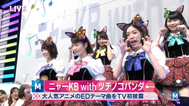 宮脇咲良 Mステ ミュージックステーション ニャーKB 20150403 (4)