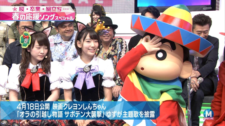 宮脇咲良 Mステ ミュージックステーション ニャーKB 20150403 (8)