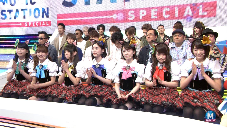 宮脇咲良 Mステ ミュージックステーション ニャーKB 20150403 (25)