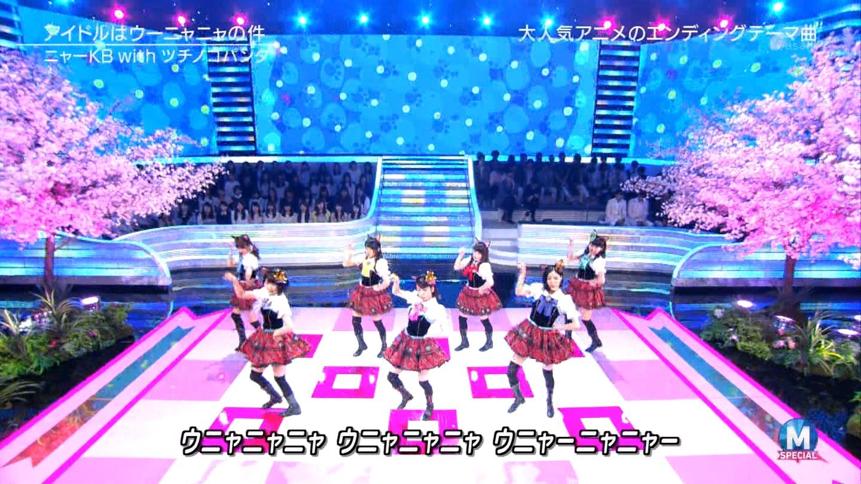 宮脇咲良 Mステ ミュージックステーション ニャーKB 20150403 (57)