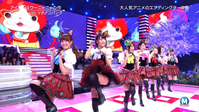 宮脇咲良 Mステ ミュージックステーション ニャーKB 20150403 (62)