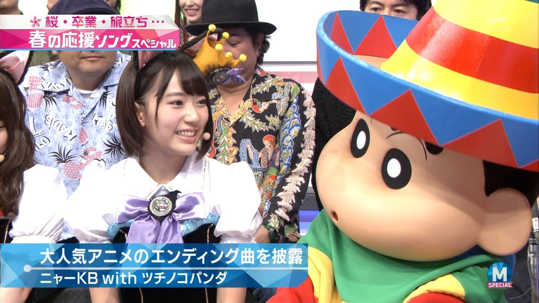 宮脇咲良 Mステ ミュージックステーション ニャーKB 20150403 (24)