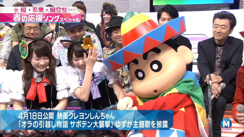 宮脇咲良 Mステ ミュージックステーション ニャーKB 20150403 (14)