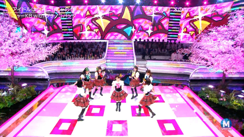 宮脇咲良 Mステ ミュージックステーション ニャーKB 20150403 (74)