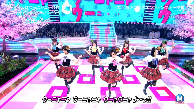 宮脇咲良 Mステ ミュージックステーション ニャーKB 20150403 (43)