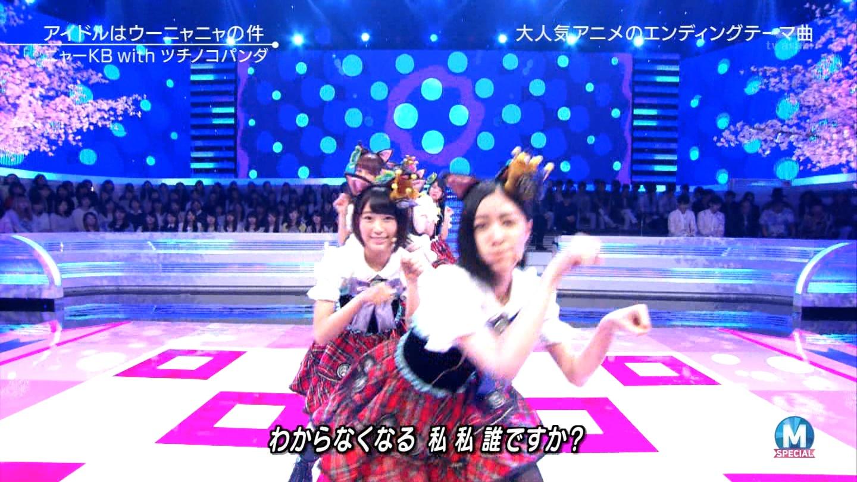 宮脇咲良 Mステ ミュージックステーション ニャーKB 20150403 (66)
