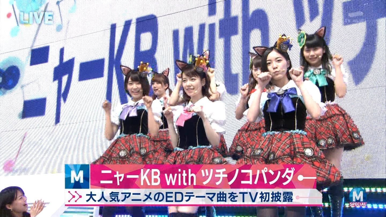 宮脇咲良 Mステ ミュージックステーション ニャーKB 20150403 (3)