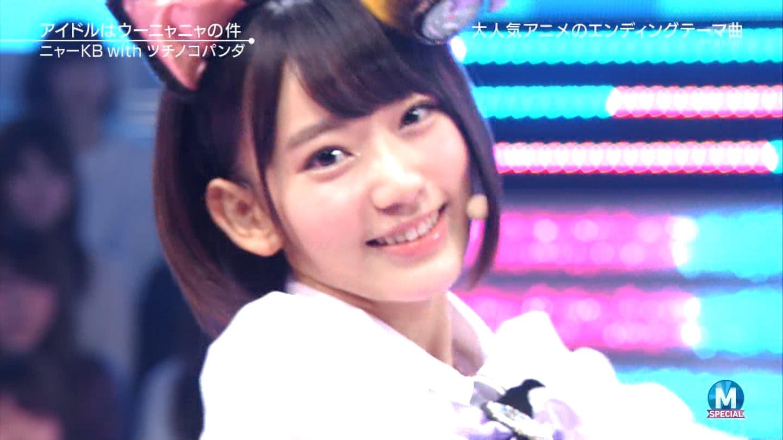 宮脇咲良 Mステ ミュージックステーション ニャーKB 20150403 (45)