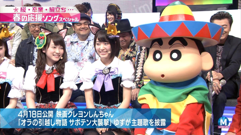宮脇咲良 Mステ ミュージックステーション ニャーKB 20150403 (16)