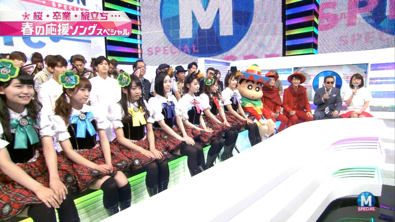 宮脇咲良 Mステ ミュージックステーション ニャーKB 20150403 (18)