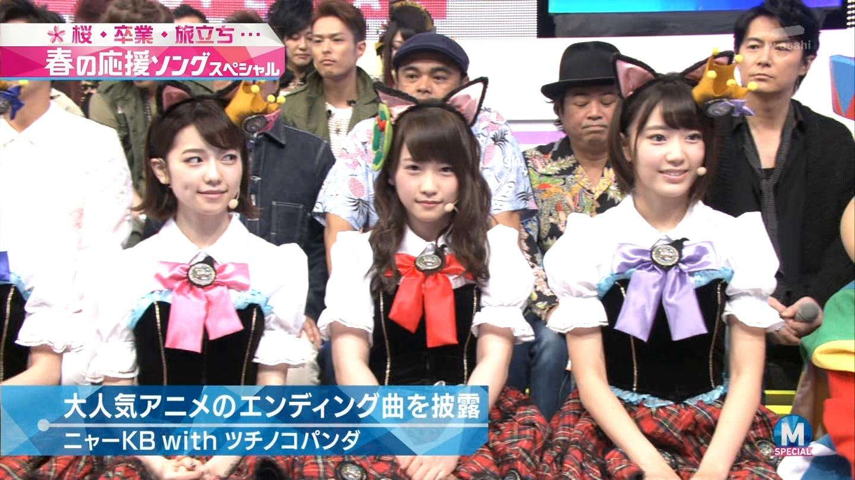 宮脇咲良 Mステ ミュージックステーション ニャーKB 20150403 (19)