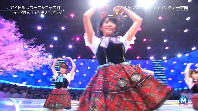 宮脇咲良 Mステ ミュージックステーション ニャーKB 20150403 (52)