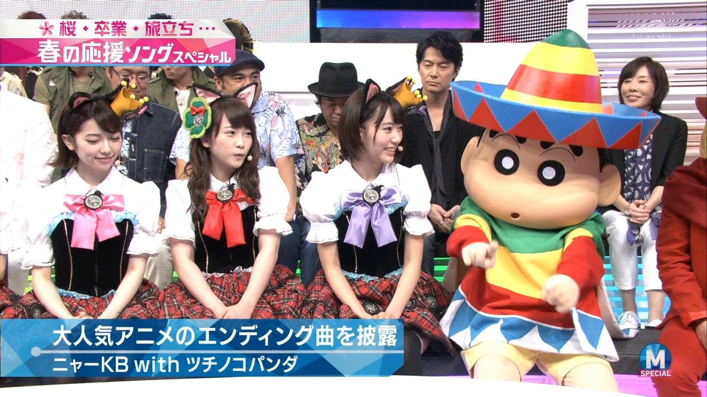 宮脇咲良 Mステ ミュージックステーション ニャーKB 20150403 (23)