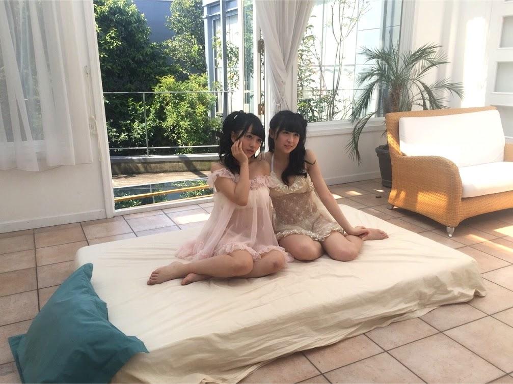 川本紗矢&向井地美音 水着オフショット FLASHスペシャル2015GW号 (4)