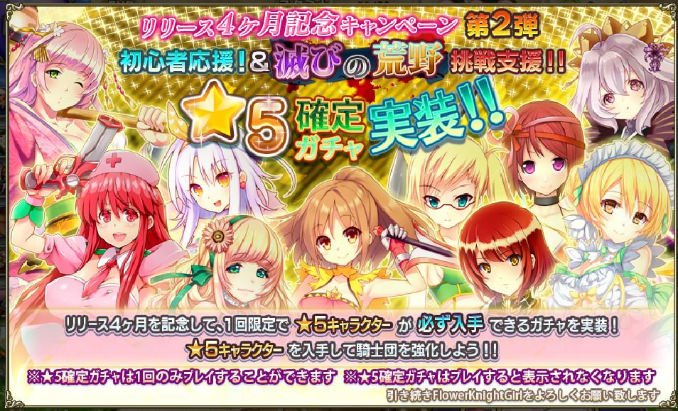 初回限定☆5確定ガチャ フラワーナイトガール  (2)