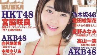 宮脇咲良 BUBKA2015年7月号 表紙水着グラビア& ポスター (1)