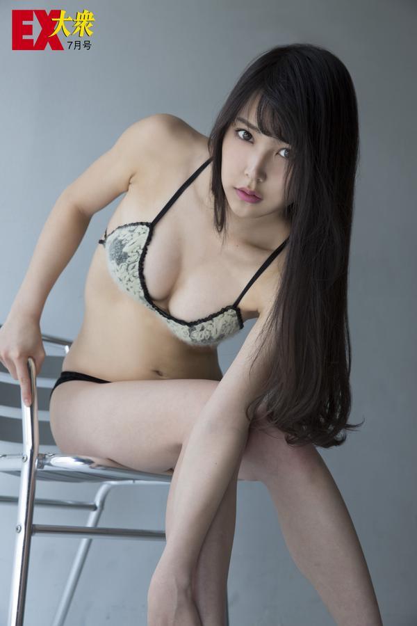 EX大衆オフショット白間美瑠  (6)