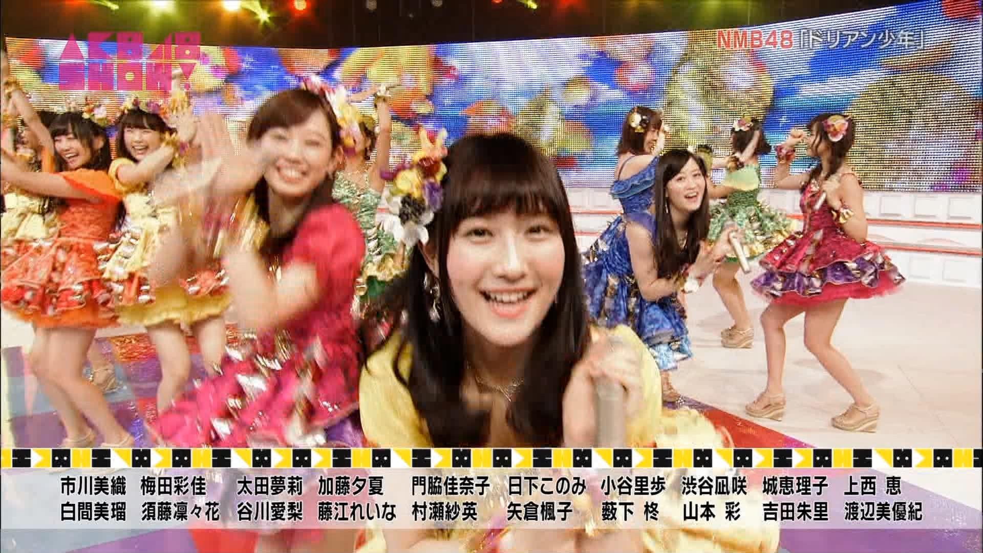 矢倉楓子 NMB48ドリアン少年 AKB48SHOW20150613 (5)