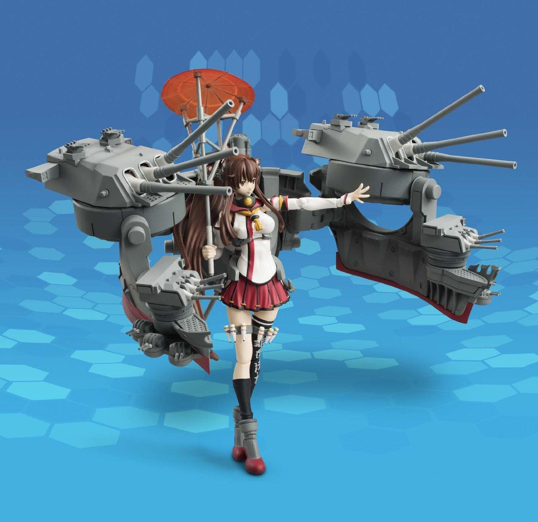 艦これ 大和改 塗装済み可動フィギュア (5)