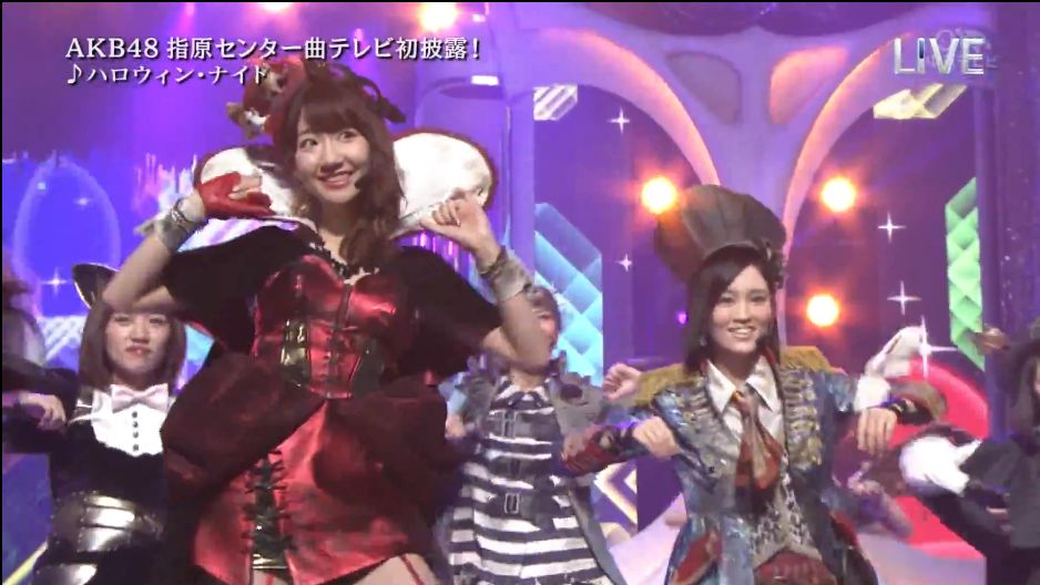 AKB48ハロウィン・ナイト THE MUSIC DAY (5)