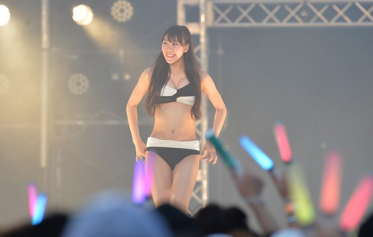 SKE48水着 in 美浜海遊祭 日刊スポーツ (1)