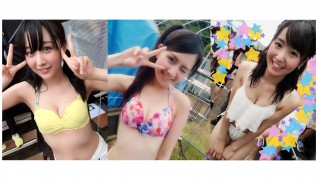 SKE48水着 in 美浜海遊祭 佐藤すみれ 鎌田菜月 惣田紗莉渚 (2)