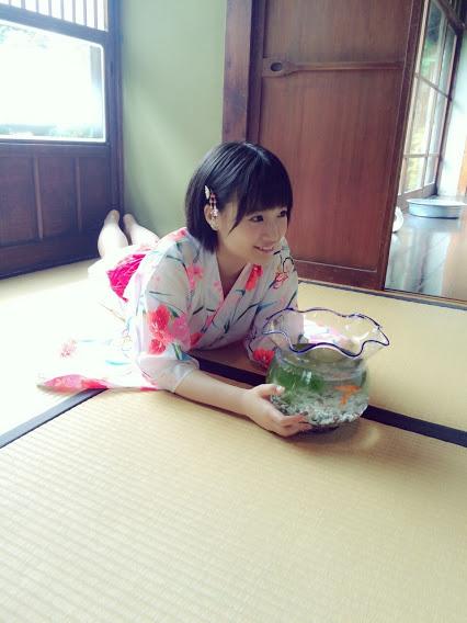 朝長美桜UTB+グラビア浴衣オフショット