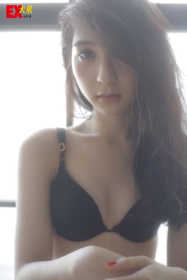 HKT48松岡菜摘 EX大衆 水着グラビア&オフショット集