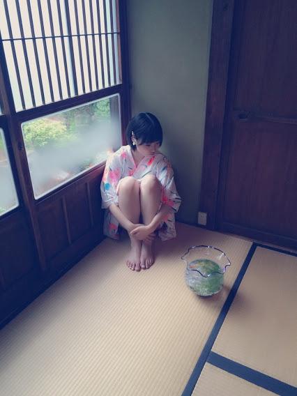 朝長美桜UTB+グラビア浴衣オフショット  (3)