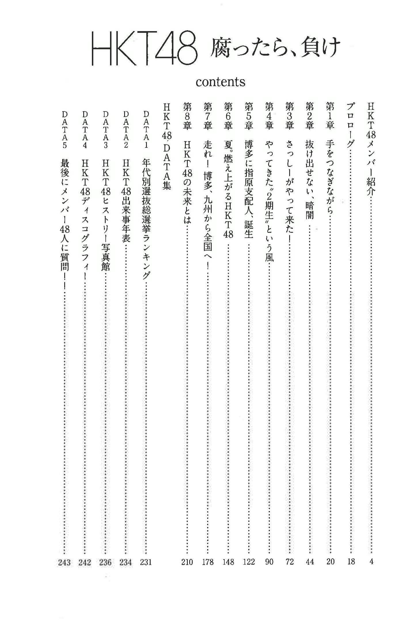 HKT48成長記 腐ったら、負け  (1)