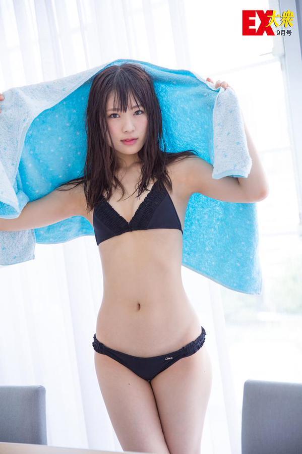 NMB48渋谷凪咲 EX大衆 水着グラビア&オフショット集