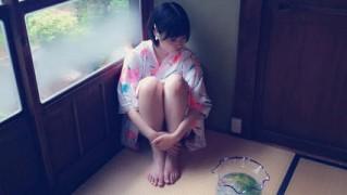 朝長美桜UTB+グラビア浴衣オフショット  (4)