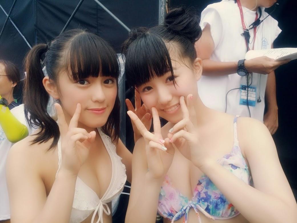 SKE48水着 in 美浜海遊祭