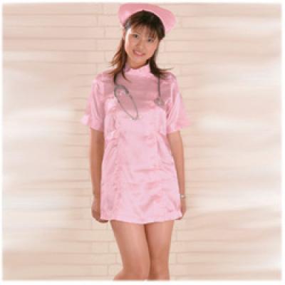 彼女に着せたい ナース服 ピンク