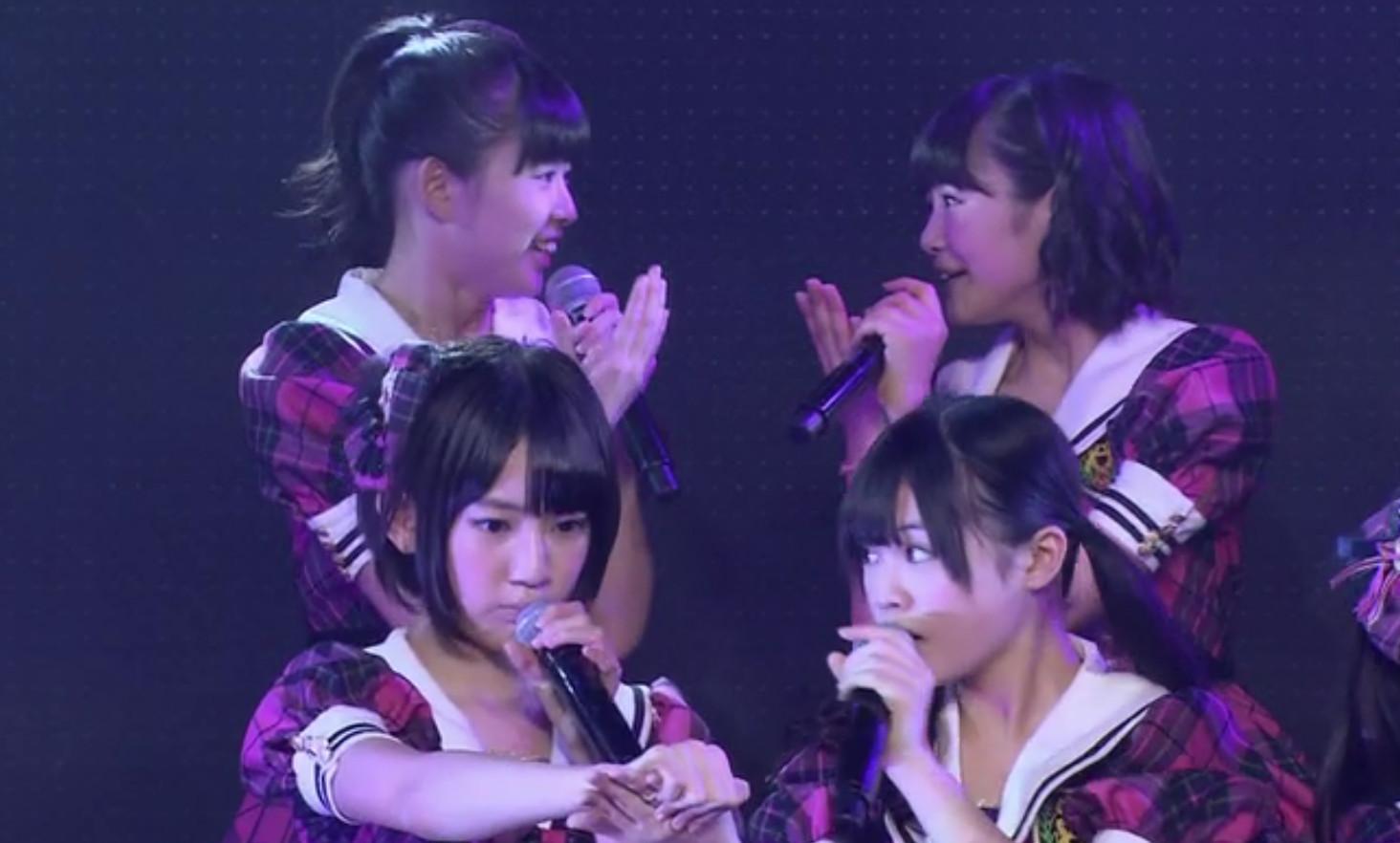 HKT48 博多レジェンド公演 宮脇咲良 本村碧井