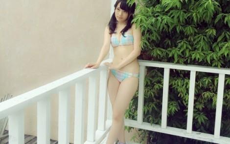 AKB48向井地美音 水着オフショット UTB2015年11月号   (5)