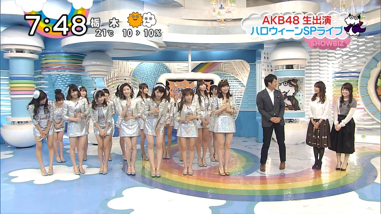 宮脇咲良ロングな ZIP生ライブ AKB48ハロウィンナイト  (15)