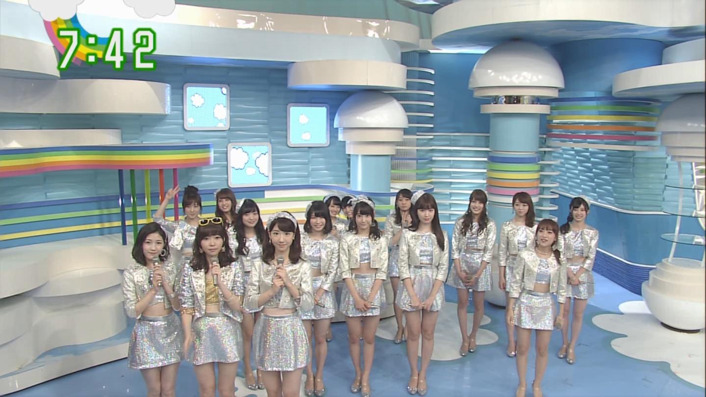 宮脇咲良ロングな ZIP生ライブ AKB48ハロウィンナイト (1)