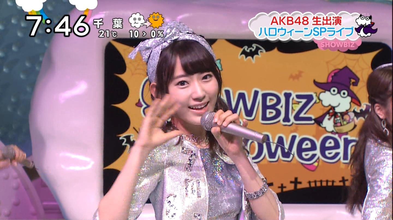 宮脇咲良ロングな ZIP生ライブ AKB48ハロウィンナイト  (8)
