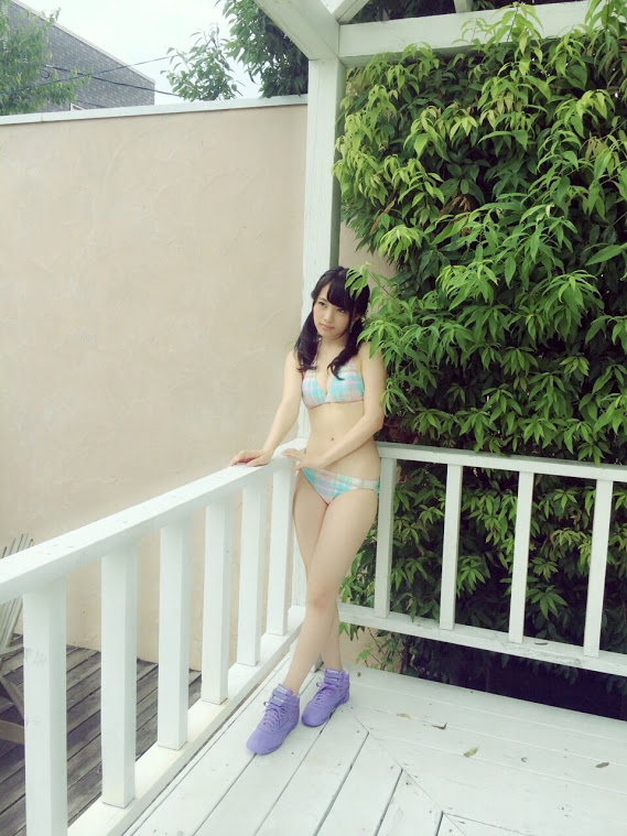 AKB48向井地美音 水着オフショット UTB2015年11月号 (1)