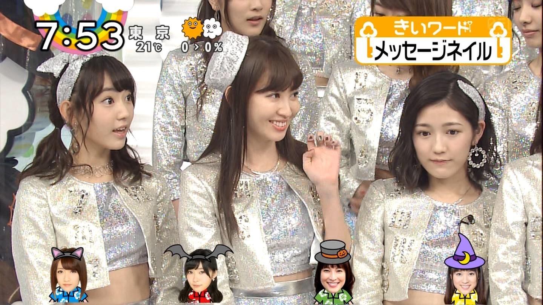 宮脇咲良ロングな ZIP生ライブ AKB48ハロウィンナイト (23)