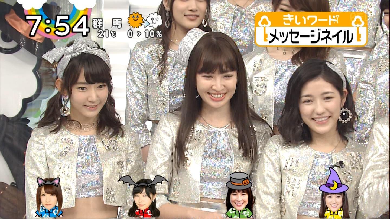 宮脇咲良ロングな ZIP生ライブ AKB48ハロウィンナイト (25)