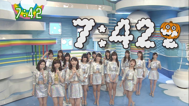 宮脇咲良ロングな ZIP生ライブ AKB48ハロウィンナイト (2)