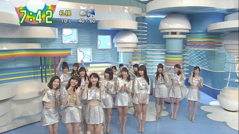 宮脇咲良ロングな ZIP生ライブ AKB48ハロウィンナイト (3)