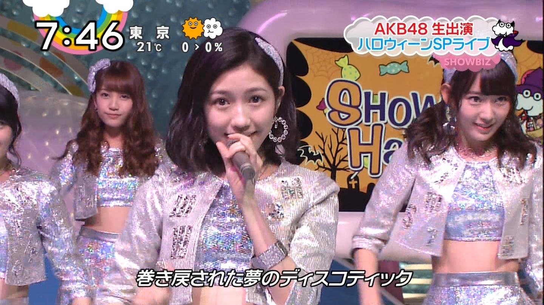 宮脇咲良ロングな ZIP生ライブ AKB48ハロウィンナイト  (6)