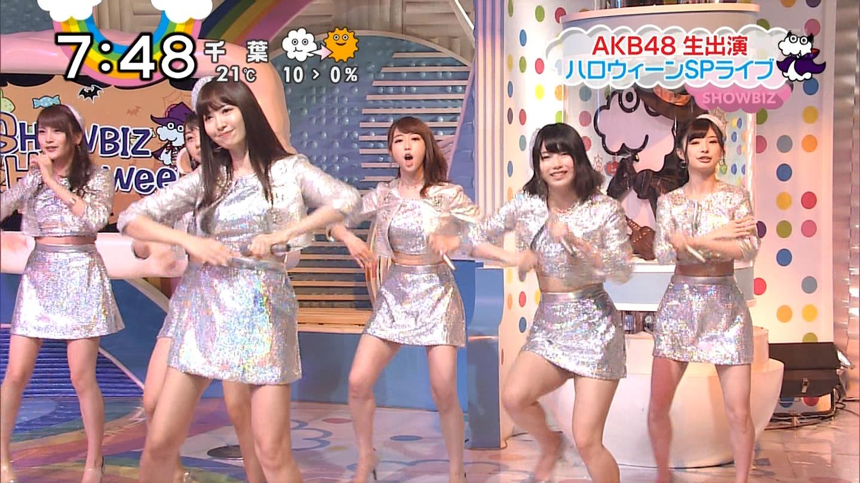 宮脇咲良ロングな ZIP生ライブ AKB48ハロウィンナイト  (13)